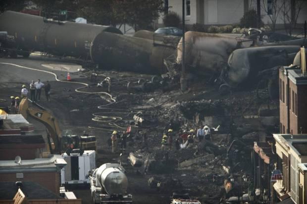 Quebec Train Blast